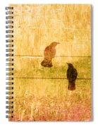 Summer Crows Spiral Notebook