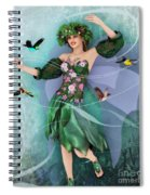 Summer Dance Spiral Notebook