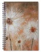 Summer Dandelions Spiral Notebook