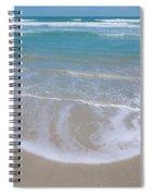 Summer Day At The Beach Spiral Notebook