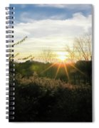 Summer Day Going Into Evening.  Spiral Notebook