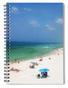 Summer Day In Florida Spiral Notebook