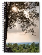 Summer Days On The Horizon Spiral Notebook