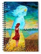 Summer Days On The Prairies Spiral Notebook