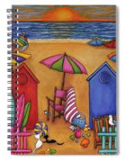 Summer Delight Spiral Notebook