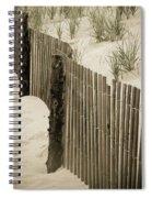 Summer Dunes Spiral Notebook