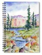 Summer Escape Spiral Notebook