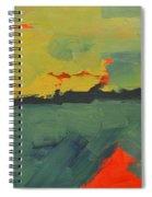 Summer Eve Bayside Spiral Notebook
