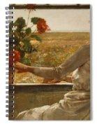 Summer Evening Spiral Notebook