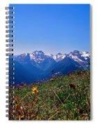 Summer Fading Spiral Notebook