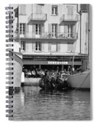 Summer Feelings Saint - Tropez Spiral Notebook
