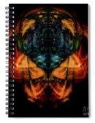 10644 - Summer Fire Mask 44 - The Battle Imp Spiral Notebook