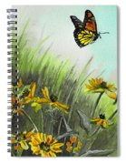 Summer Flight Spiral Notebook