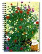 Summer Flowers 10 Spiral Notebook