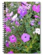 Summer Flowers 5 Spiral Notebook