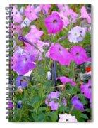 Summer Flowers 8 Spiral Notebook