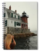 Summer Fog Spiral Notebook