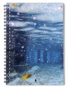 Summer Fun In Maldives Spiral Notebook