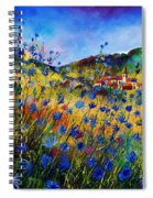 Summer Glory Spiral Notebook