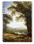 Summer Harvest On Caserta Plain Spiral Notebook