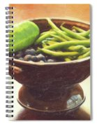 Summer Harvest Spiral Notebook