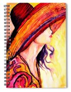 Summer Hat Spiral Notebook