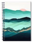 Summer Hills Spiral Notebook