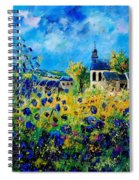 Summer In Foy Notre Dame  Spiral Notebook