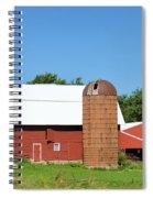 Summer In Iowa Spiral Notebook