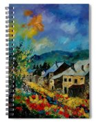 Summer In Mogimont Spiral Notebook