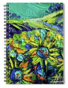 Summer In Provence Spiral Notebook