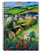 Summer In Rochehaut Spiral Notebook