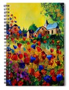 Summer In Sosoye Spiral Notebook