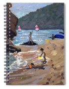 Summer In Spain Spiral Notebook