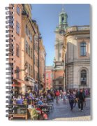 Summer In The City Spiral Notebook