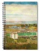 Summer In Vatnsmyri Spiral Notebook
