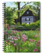 Summer In Waterford Spiral Notebook