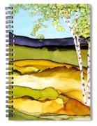 Summer Landscape I Spiral Notebook