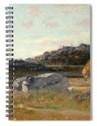 Summer Landscape Spiral Notebook