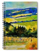 Summer Landscape Spiral Notebook
