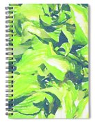 Summer Leaves Spiral Notebook