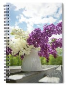 Summer Lilacs Spiral Notebook
