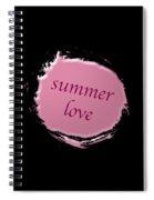 Summer Love  Spiral Notebook