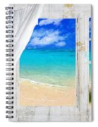 Summer Me Iv Spiral Notebook