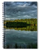 Summer Morning At The Dock Spiral Notebook