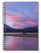 Summer Night At Sparks Lake Spiral Notebook