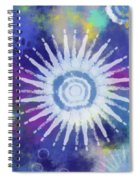 Summer Of Love 2- Art By Linda Woods Spiral Notebook