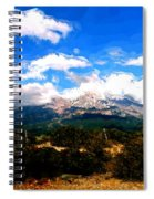 Summer On Mt. Shasta Spiral Notebook