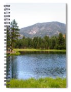 Summer On The Lake Spiral Notebook