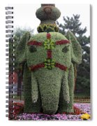 Summer Palace Elephant 2 Spiral Notebook